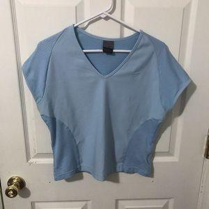 Nike Large Dri Fit Baby Blue Shirt